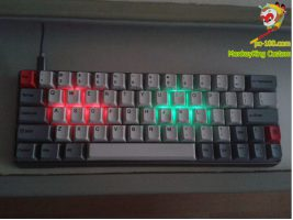 DIY every key's backlit color