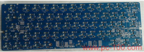 GH60 programmable mechanical keyboard PCB