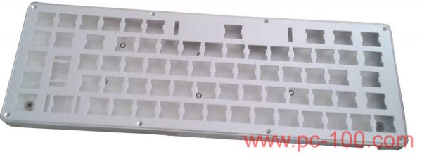 GH60 DIY programmable mechanical keyboard, case and panel (64 keys)