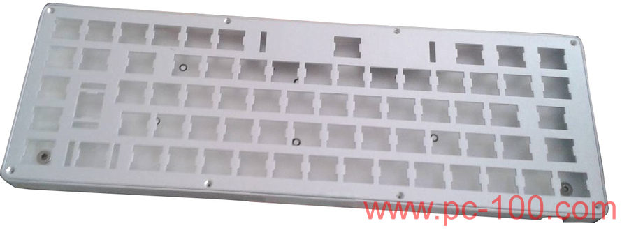 GH60 programmable mechanical keyboard with RGB back light