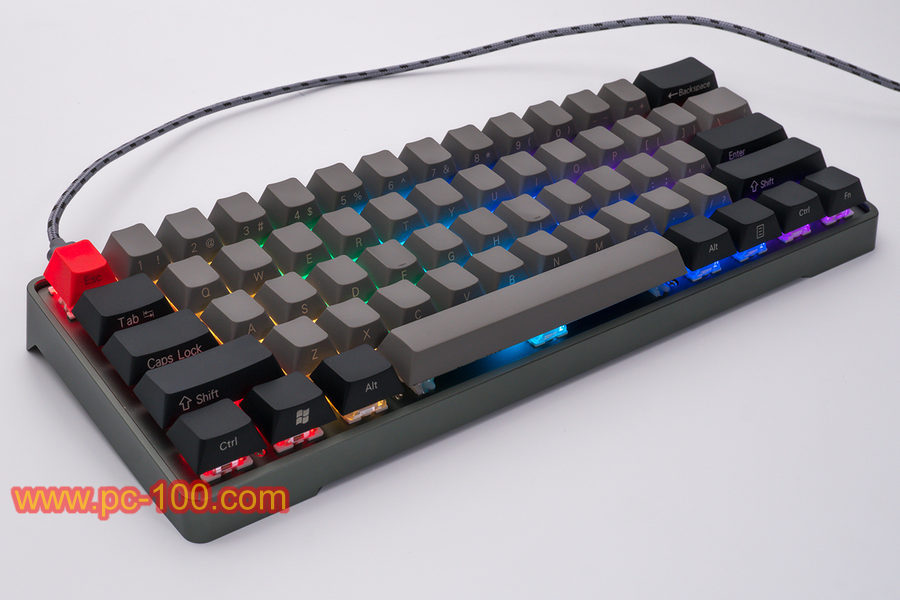 RGB backlit effects for GH60 custom programmable mechanical keyboard