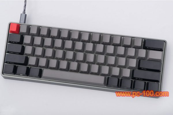 GH60 custom programmable mechanical keyboard, Poker layout (61 keys), GH60 is a efficient keyboard designed for professional players