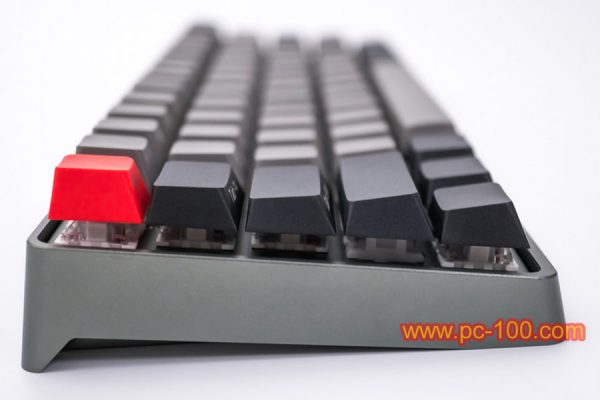 GH60 programmable mechanical keyboard (61 keys, Poker layout), details show