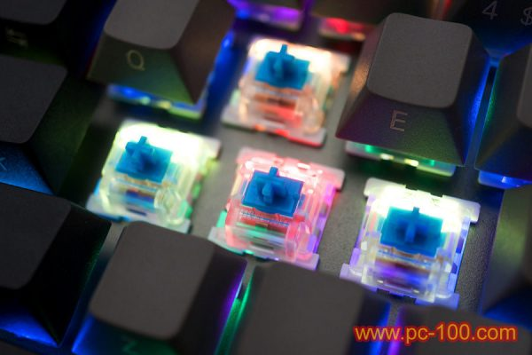 GH60 programmable mechanical keyboard (61 keys, Poker layout), with RGB LED back light for each keys, certainly, you may close all LED if you don't like the backlit effects.