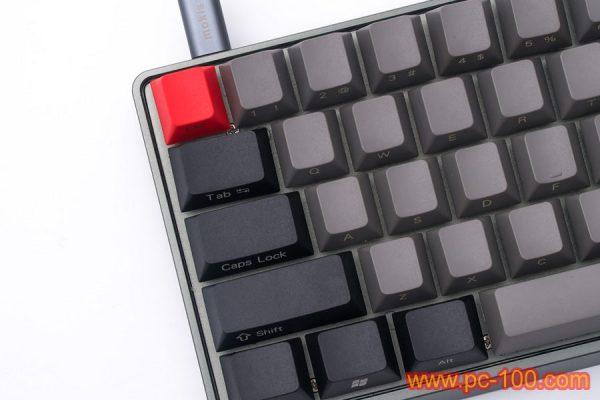 GH60 custom programmable mechanical keyboard details