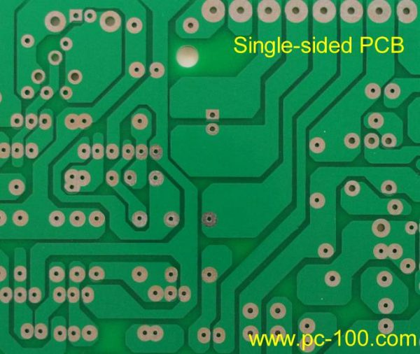 A Part of Mechanical Gaming Keyboard Single Sided PCB