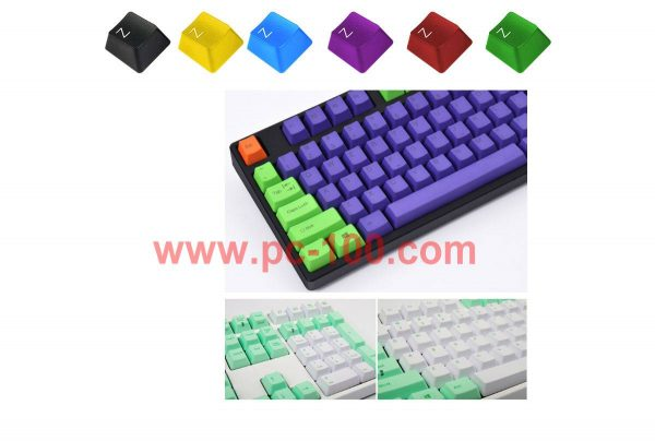 Custom color of key caps for mechanical keyboard