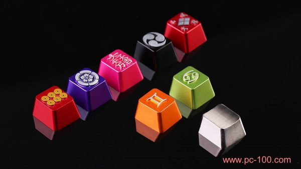 Mechanical keyboard's kay caps