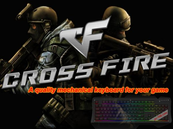 Mechanical keyboard for playing Cross Fire game