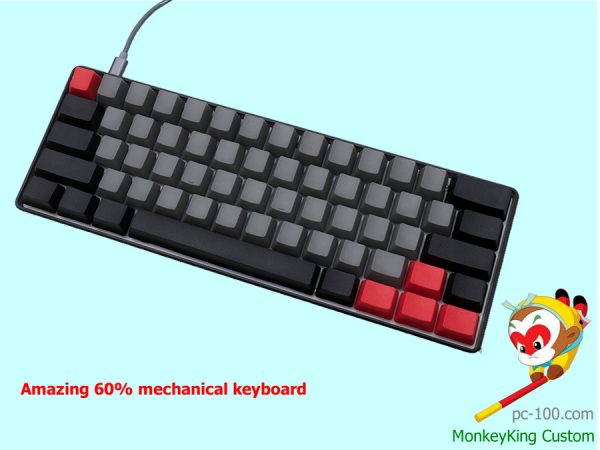 Amazing 60% mechanical keyboard IngeniousMonkey
