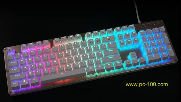 RGB full color breath backlight mechanical keyboard