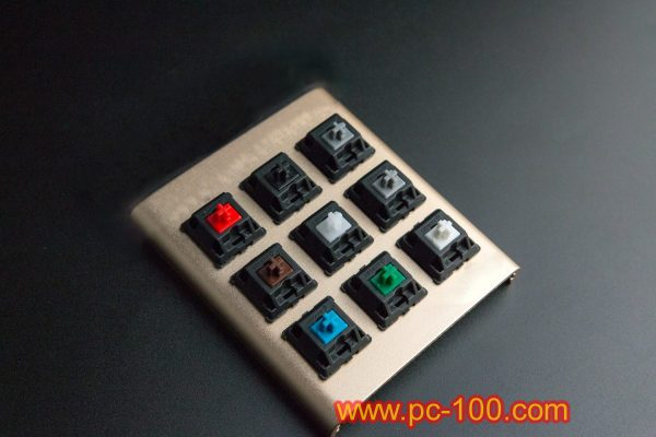 A switch tester for mechanical keyboard