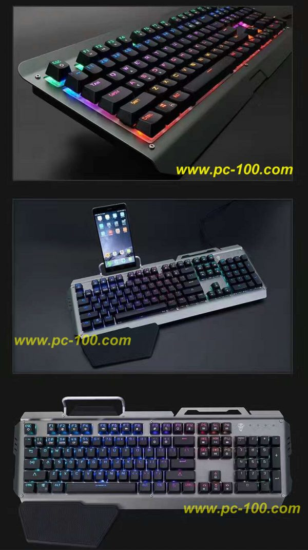 Details for mechanical keyboard with optical keyboard switches