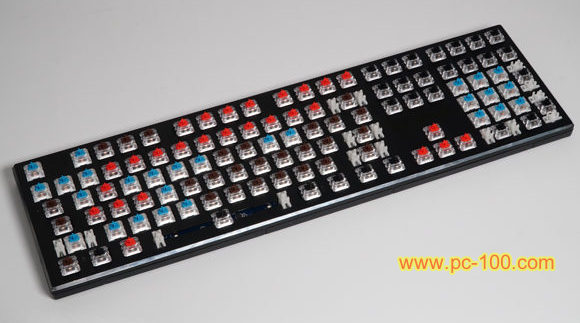 You may DIY a unique mechanical gaming keyboard for yourself, switch-pull-and-plug keyboard is convenient to DIY