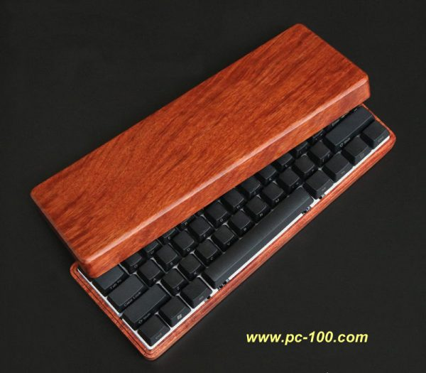 Wooden shell for GH60 mechanical keyboard, relatively expensive and high class