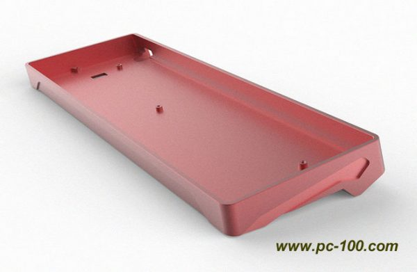Metal case shell for GH60 mechanical keyboard, with high price and tactile feel