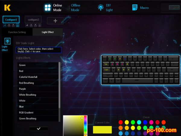 mechanical keyboard smart driver software