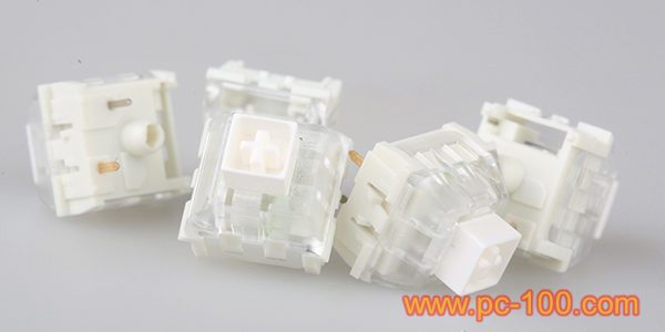 Mechanical switches for mechanical gaming keyboard