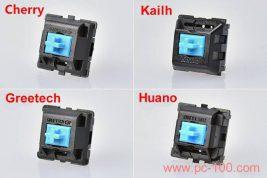 Mechanische Tastatur Schalter Marken