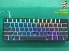 PBT doubleshot keycaps, Efeito de iluminação RGB backlit