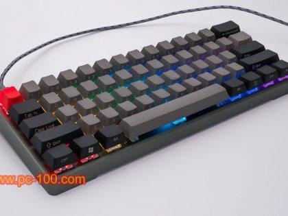 Layout de Poker personalizado teclado mecânico programável GH60 (61 chaves)